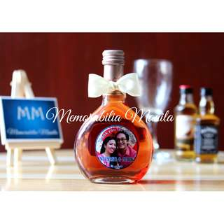 Mini Wine Bottle - Wedding giveaway souvenir