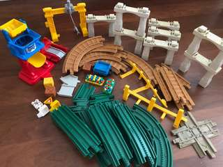 Fisher price train set accessories