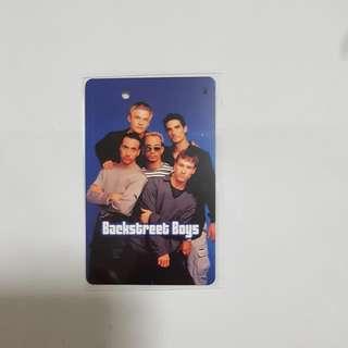 MRT Card - Backstreet Boys