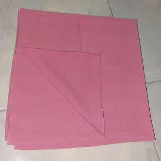 Hijab wolfis dusty pink
