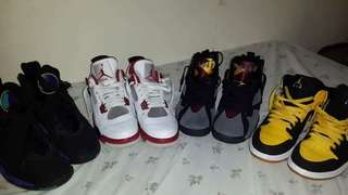 FOR SALE JORDAN RETRO'S