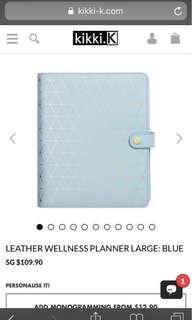 kikki.k large wellness planner [ rtp $109.90 ]