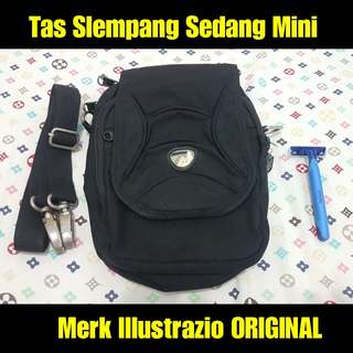 Tas Slempang Sedang Mini Illustrazio Second Terawat Original