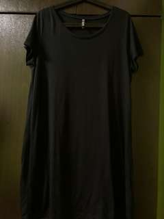 Cotton On Tshirt Dress in Black