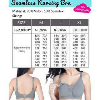 Nursing Bra Seamless