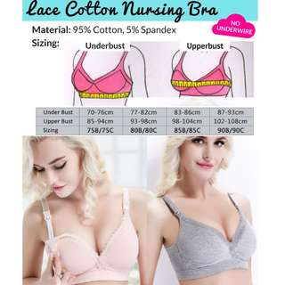 Nursing Bra Lace