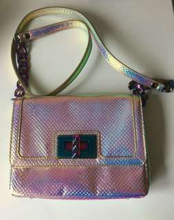 Juicy Couture Holographic Crossbody