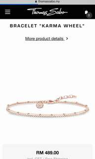 Thomas Sabo Bracelet Rose Gold Colour