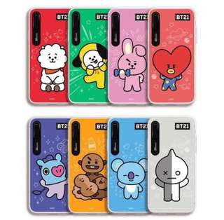 BT21 OFFICIAL GRAPHIC LIGHTNING CASE