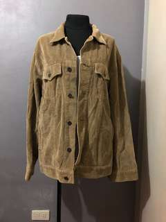 Pre Loved Authentic Guess Courdoroy Jacket
