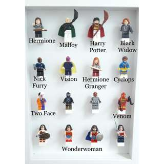 HARRY POTTER & SUPERHEROES MINIFIGS