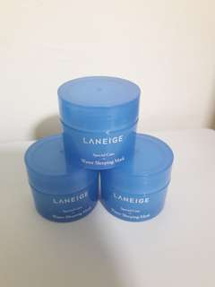 LANEIGE Special Care Water Sleeping Mask Travel Size  (15ml)