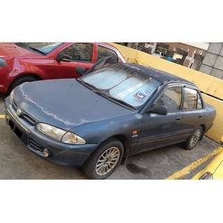 Proton Wira 1.5 (Still Running but can sell as scrap)