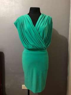 Pre Loved Overlap Mini Dress