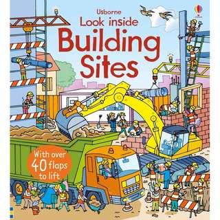 Usborne: Look inside building sites