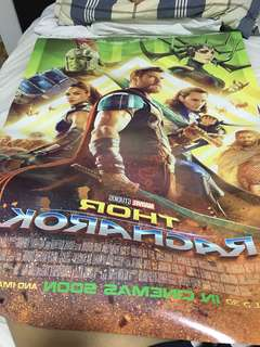 Thor ragnorok Poster