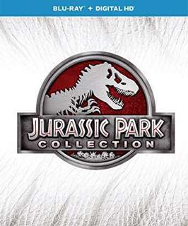 Original Jurassic Park collection Blu Ray set