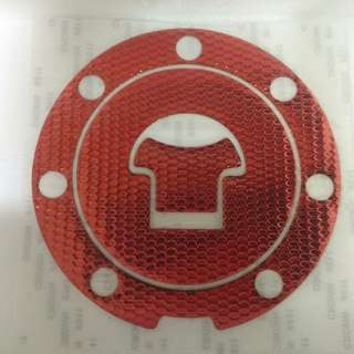 Red Fuel tank cap sticker (Free Mailing)