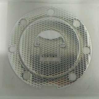 Sliver Fuel tank cap sticker (Free Mailing)