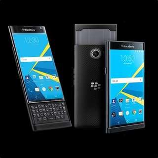 Kredit Blackberry Priv Smartphone Black Proses Mudah