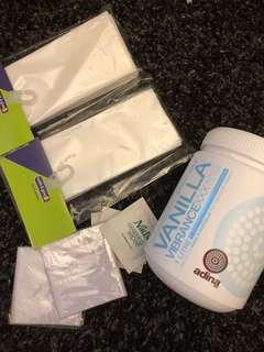 (VEGAN)Adina Vanilla Professional Strip Wax (1L)