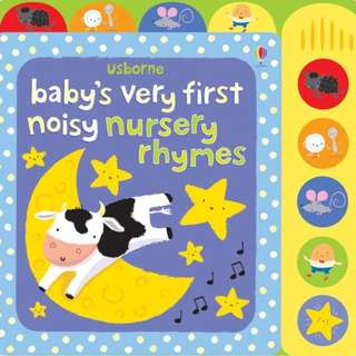[Award Winning] Baby's very first noisy nursery rhymes