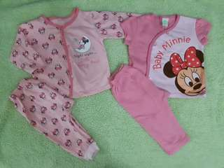 Baby Minnie Sleepwear (2sets)