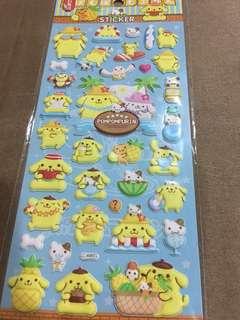 Pompompurin Stickers