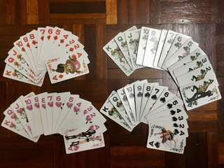 One Piece 54 cards with hard cover
