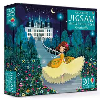 Usborne: Cinderella jigsaw and picture book