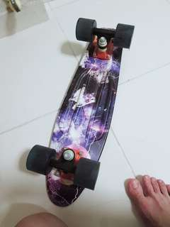 Authentic Navy Blue 'Galaxy' Penny Board