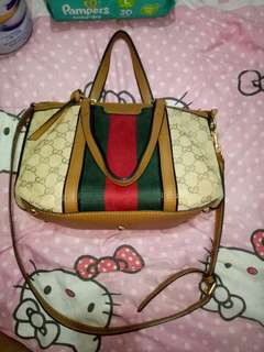 Gucci 2way bag authentic