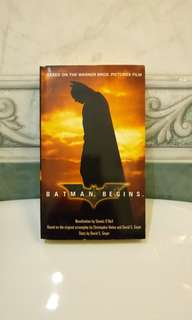 Batman Begins Novel