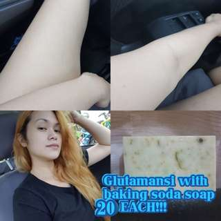 20PESOS! GLUTAMANSI BAKING SODA SOAP