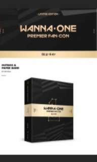 [PRE-ORDER] WANNA ONE PREMIER FAN CON DVD BLUE-RAY