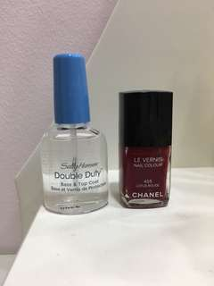 Chanel Sally Hansen Nail Polish