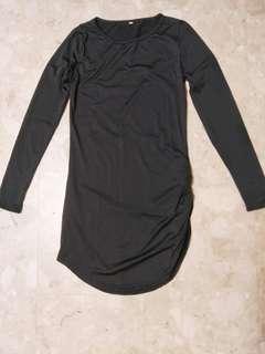 🚚 INSTOCK - Black Slim Long Sleeved Dress