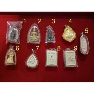 Thai Amulets Encased ($18 EA)