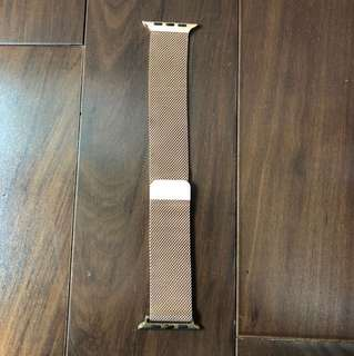 Apple watch band rose gold 42mm