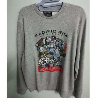 Pacific Rim Uprising Scrapper Sweatshirt (New)