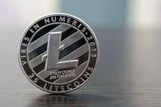 LTC / LiteCoin $168 (一路发)