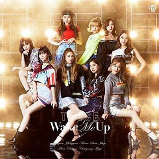 清貨蝕讓 Twice Wake Me Up 通常盤 CD 日本版  附 Poster 小卡