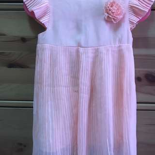 Poney Pink Kids Dress