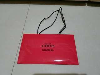 [禮物] Chanel Rouge Coco 紙袋