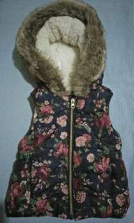 Faux Fur F&F Kids/Toddler Hooded Gilet