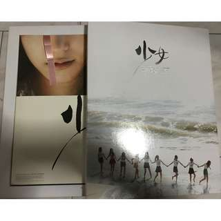 SNSD 1st Tokyo Photobook (1st Press, CD opened, not subbed)