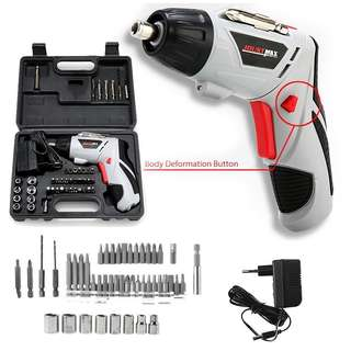 Cordless screwdriver rechargeable!
