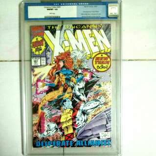 MARVEL COMICS UNCANNY X-MEN #281 SLABBED CGC 9.8