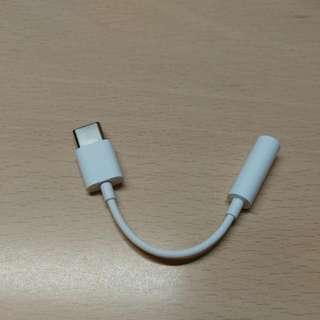 type c 轉 3.5mm耳機轉頭