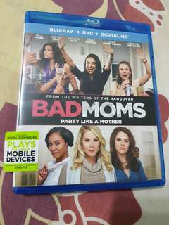 BADMOMS  blu ray / dvd / hd